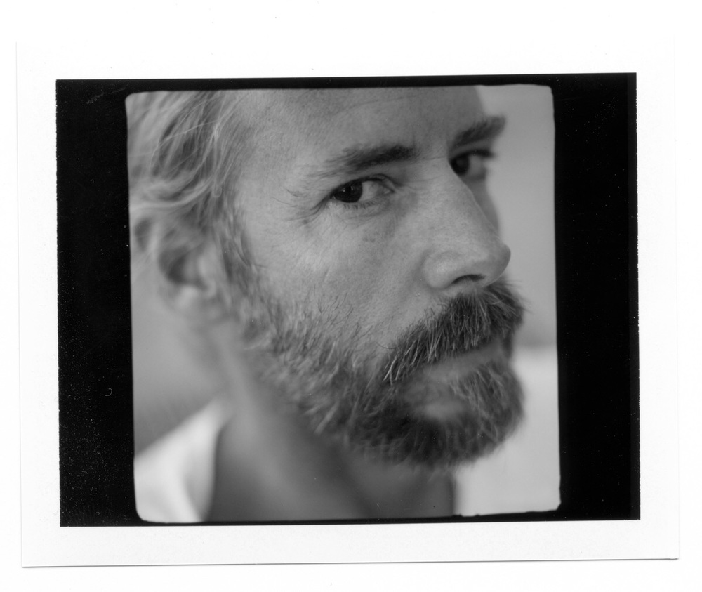 Polaroid of great artist Antonio Guerrero.