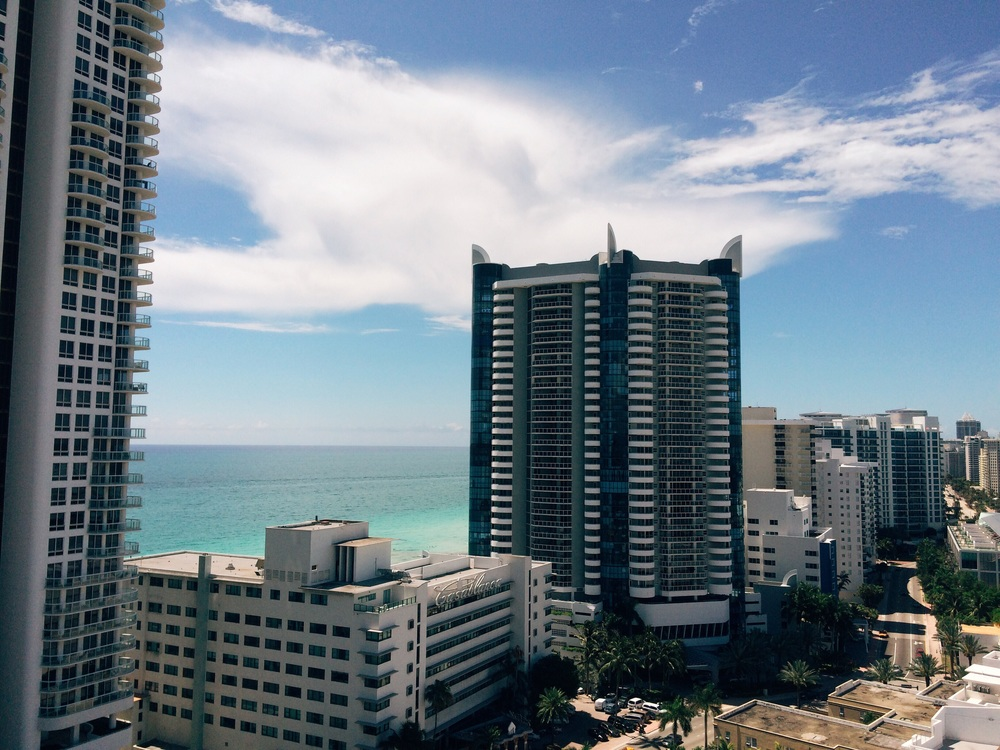 Collins ave. Ocean view.