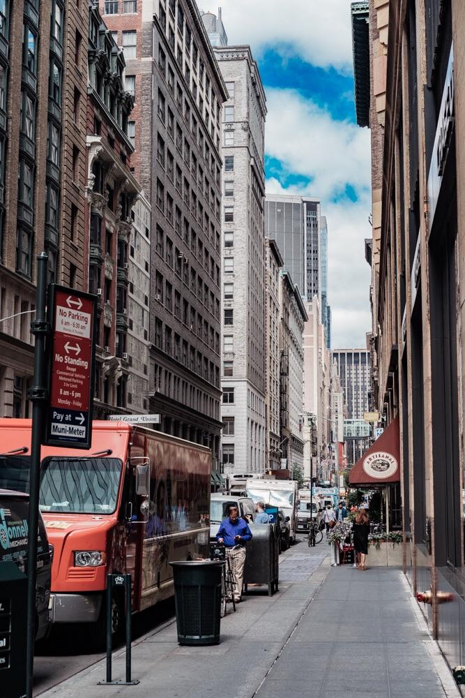 Street. Manhattan.