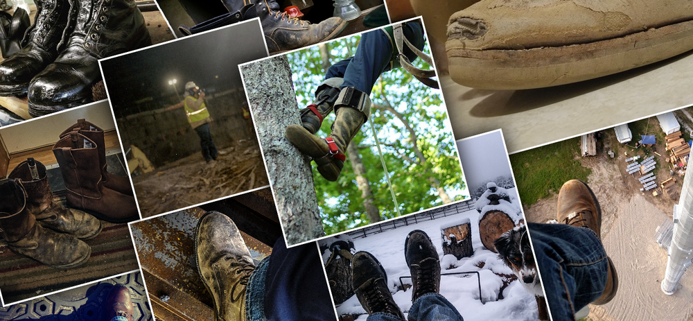 """MINING GOLD?  In 2016, I had developed a campaign and content hub for Red Wing asking workers how, despite difficulties and differences on the worksite, that they kept America Working and to submit a picture of their boots """"on the job."""" We got some great shots of workers' boots climbing dizzying heights and trudging through hellacious muck, and,that was good. However, we also got epic, heartfelt tomes of grit,  harrowing stories of near death and dismemberment, and most of all, a common theme of working through adversity every day to provide for your family. Through it all, their Red Wings helped them get the job done right, and, were not viewed as just another tool but as more of a trusted partner.  For some, over many years, their boots had become a part of them. Reading accounts of workers, """"retiring"""" a pair of boots after many years of service was as if they were giving a speech at a good friend's wake. I'm not doing it justice. You just have to read them.  More importantly, Millennial tradesmen needed to have this wisdom passed down to them."""