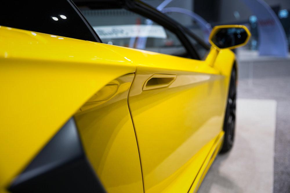 Lamborghini Aventador at 2017 Chicago Auto Show - McCormick Place - Chicago, IL