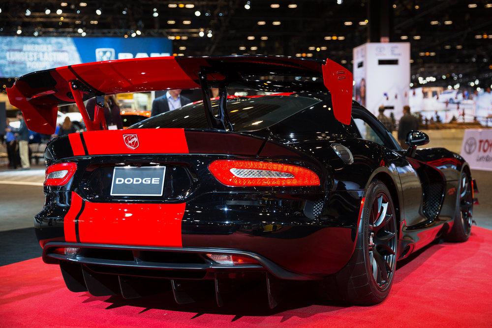 Dodge Viper at 2017 Chicago Auto Show - McCormick Place - Chicago, IL