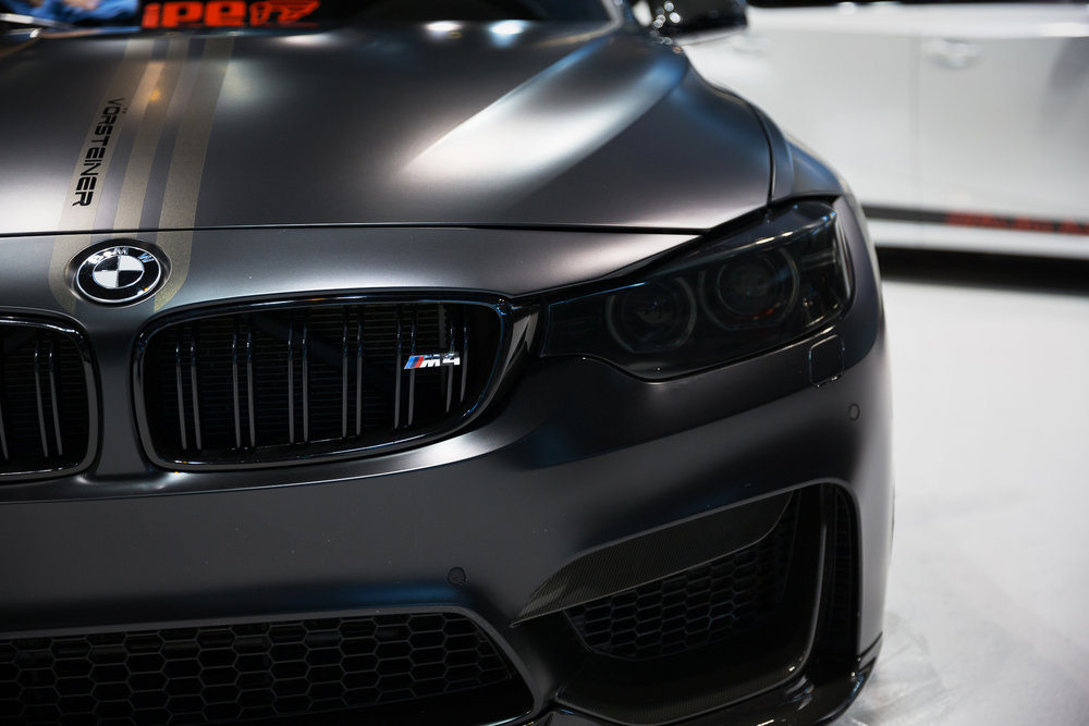 BMW M4 at 2017 Chicago Auto Show - McCormick Place - Chicago, IL
