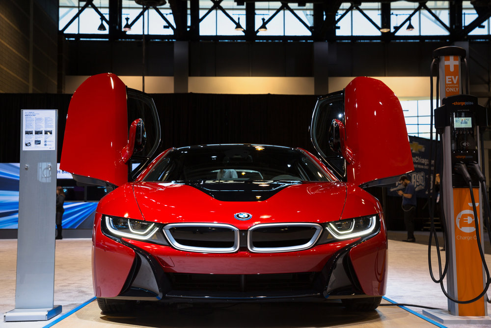 BMW i8 at 2017 Chicago Auto Show - McCormick Place - Chicago, IL