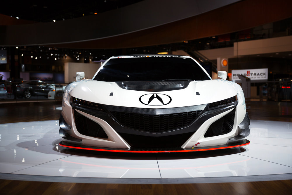 Acura NSX GT3 at 2017 Chicago Auto Show - McCormick Place - Chicago, IL