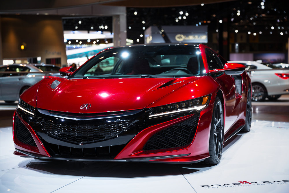 Acura NSX at 2017 Chicago Auto Show - McCormick Place - Chicago, IL