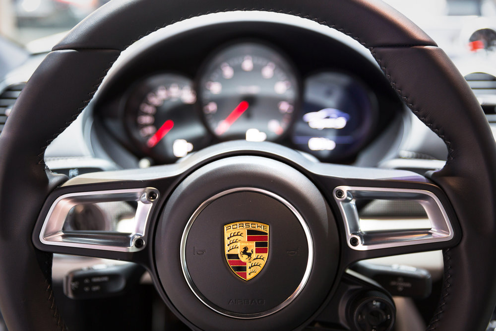 Porsche Cayman at 2017 Chicago Auto Show - McCormick Place - Chicago, IL