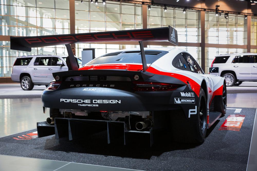 Porsche 911 RSR at 2017 Chicago Auto Show - McCormick Place - Chicago, IL