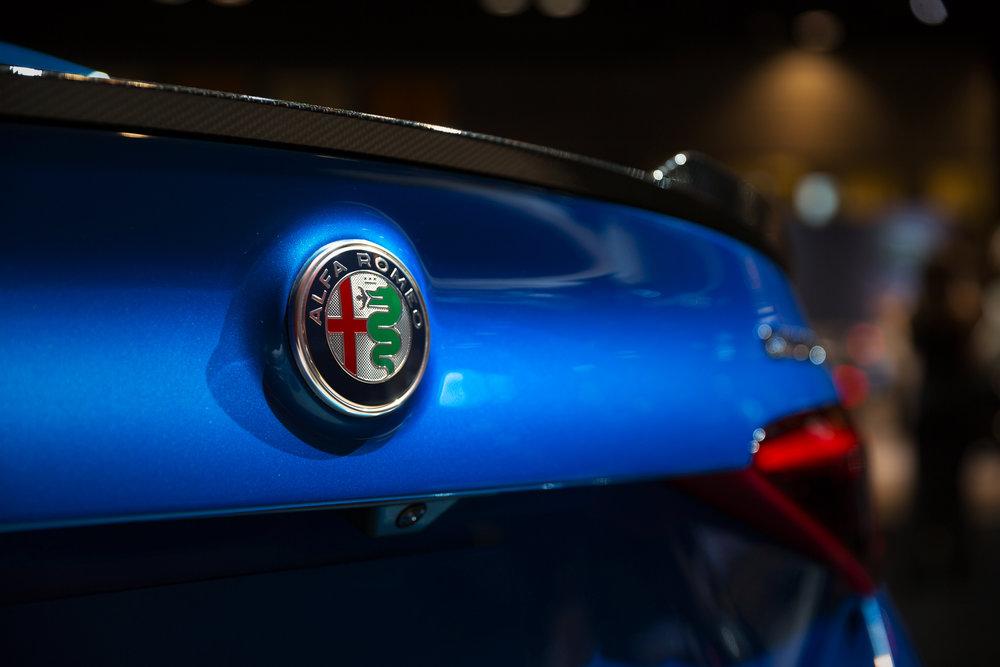 Alfa Romio Giulia at 2017 Chicago Auto Show - McCormick Place - Chicago, IL