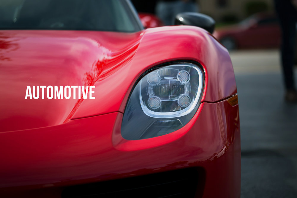 A collection of automotive photography by Gary Hebding Jr Chicago photographer