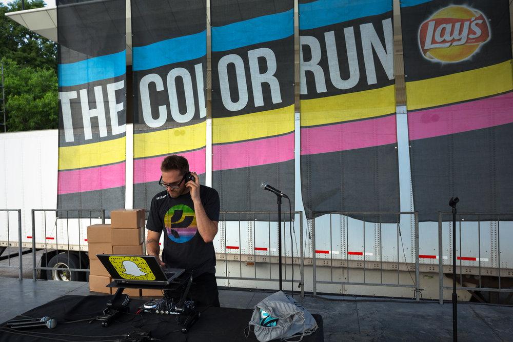 Color Run DJ - Grant Park - Chicago, IL
