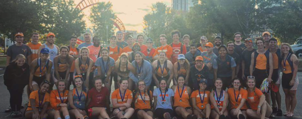UT Crew at Music City Head Race, 2016