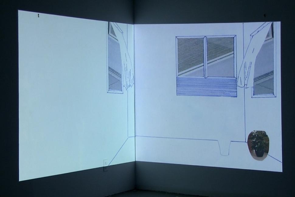 VIDEO:Untitled (Split Rooms)