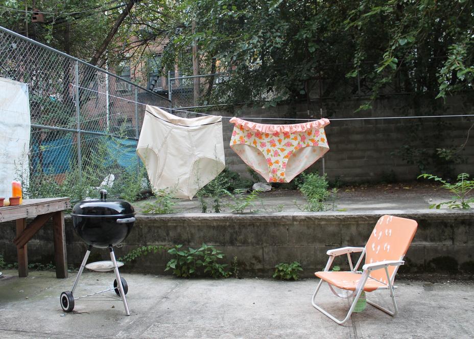 Phyllis Ma, Untitled (Underwear)2013
