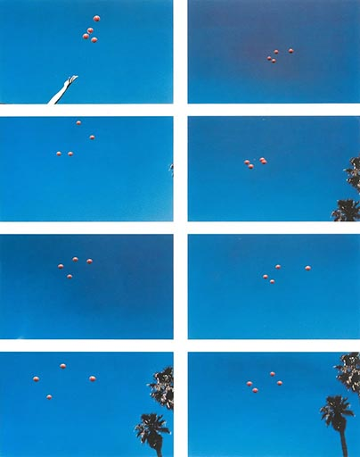 John Baldessari, Throwing Four Balls in the Air to Get a Square