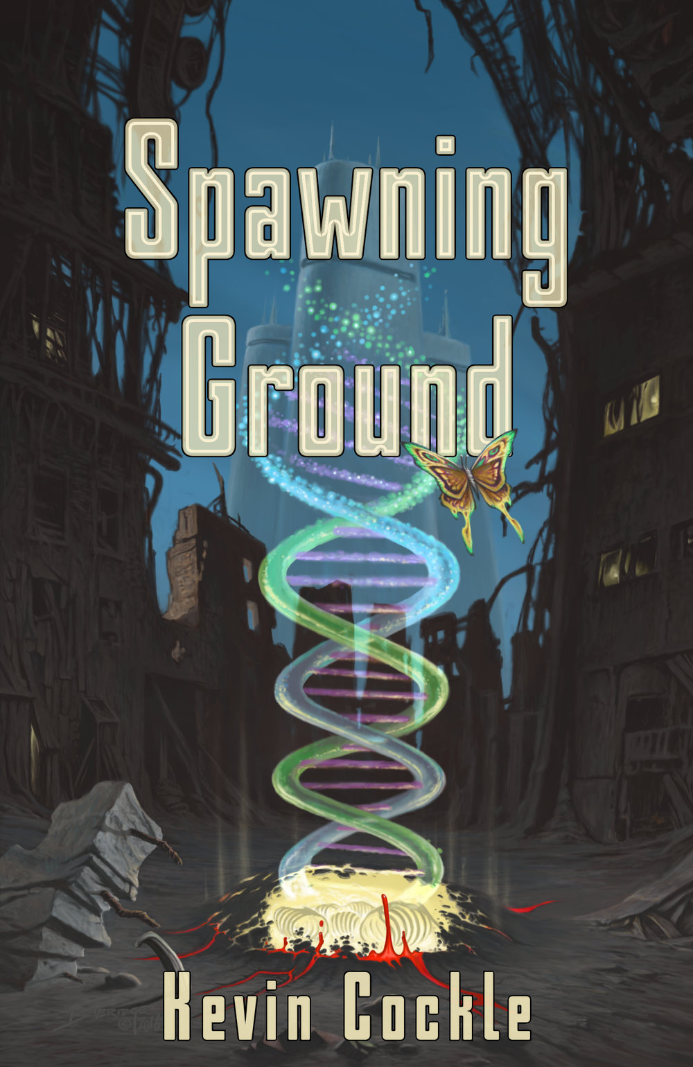 Spawning Groundby Kevin Cockle - Genetic perfection has a price that humanity may not be able to afford.