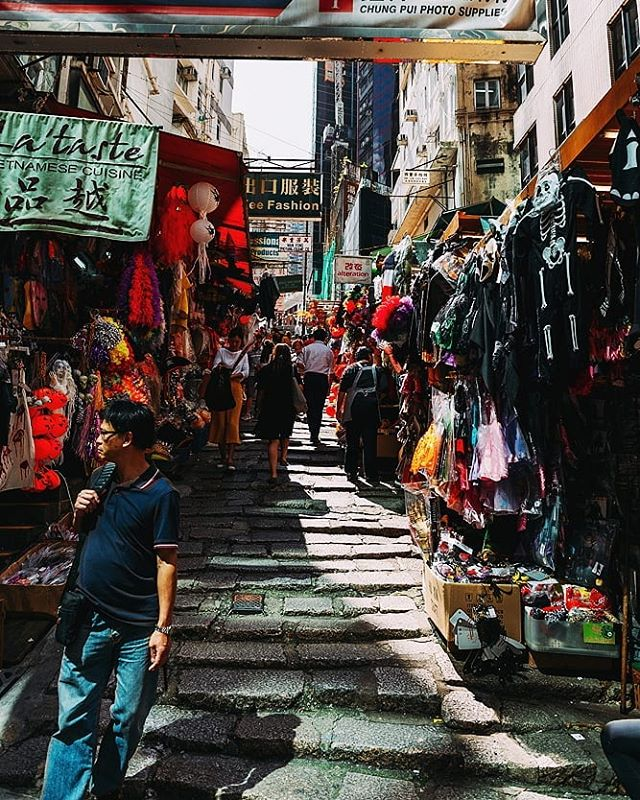 Street markets  #hongkong #china #PierceTravels #asia