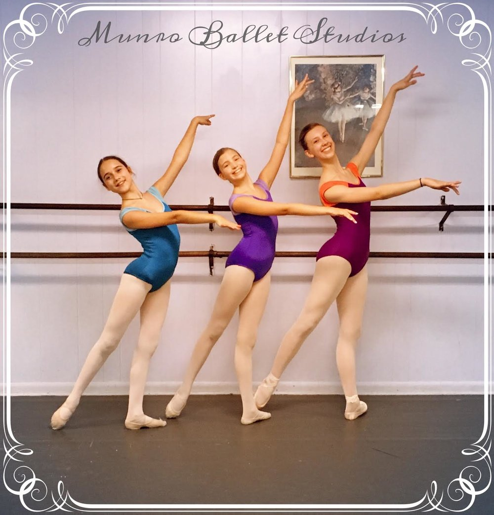 Munro Ballet Studios -  *Munro Ballet Studios is the official school of the Corpus Christi Ballet.  Please contact the Munro Ballet Studios for classes ranging in age from 3-Adults in Ballet, Jazz, Tap, Hip-Hop, and more! Munro Ballet Studios  5610 Everhart Rd.  (361) 991-6151  email- dance@munroballetstudios.com  website-  www.munroballetstudios.com