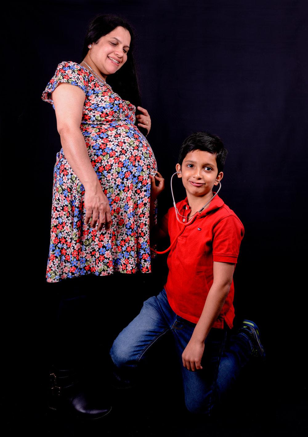 Vandana Bump/Family -17