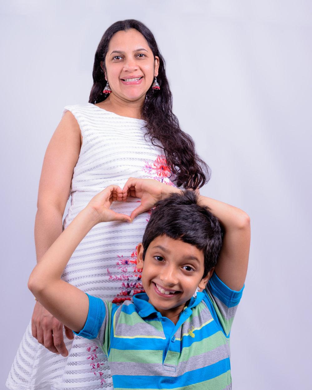 Vandana Bump/Family -44