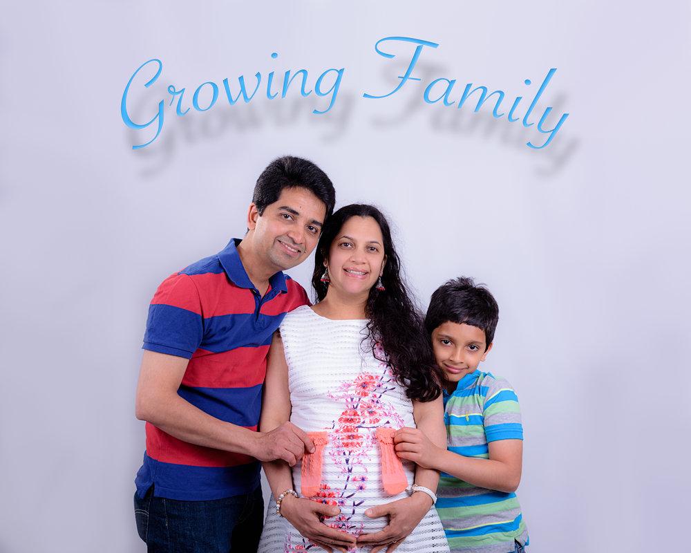 Vandana Bump/Family -46