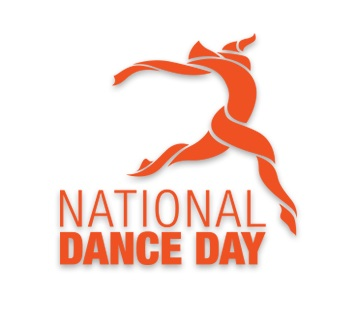 National Dance Day logo - Dizzy Feet Foundation