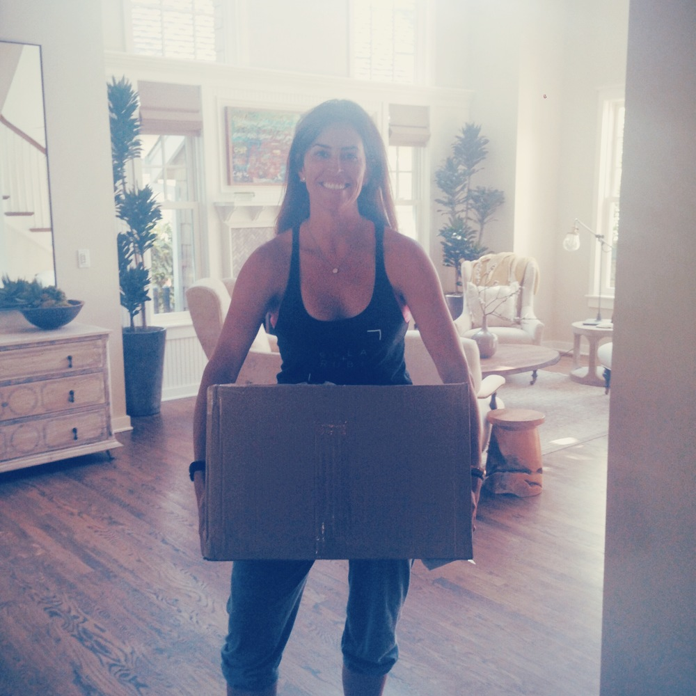 Amazing to get our first boxes of product,   so excited to unpack them - almost like Christmas:)