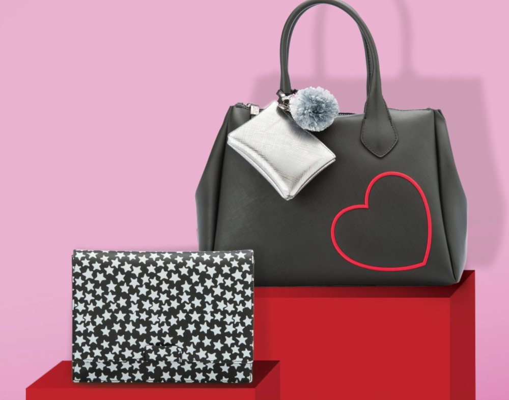 GUM spring collection. Hearts, Stars and fun bag accessories!!