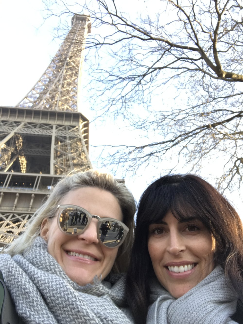 oh we had a blast Paris. Memories were made... xoxo ELLA+RUBI
