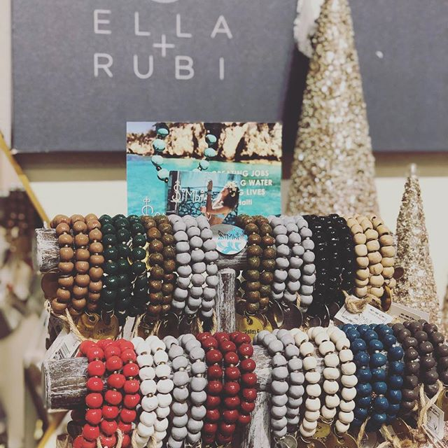 another shop favorite...@simbihaiti is stocked (or at least today it is!) give the gift of clean water for every bracelet you wear or share! ❤️