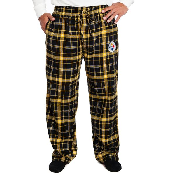 Ok guys, you can't be outside conquering the world 100% of the time, so why not relax in style with these awesome pants? Perfect for lounging around, they have pockets, are made of coze flannel, and feature an embroidered logo. By Concept Sports. $27.99