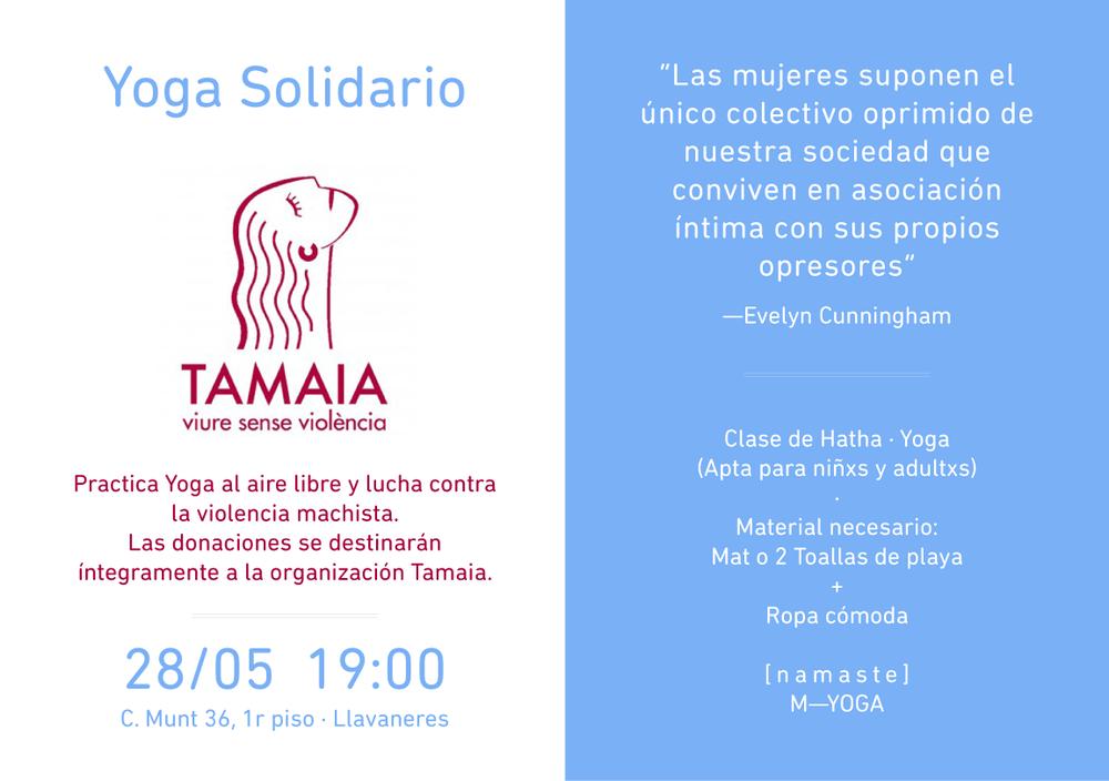 w  ∙  tamaia.org |t  ∙  93 412 08 83 | e  ∙ comunicacio@tamaia.org