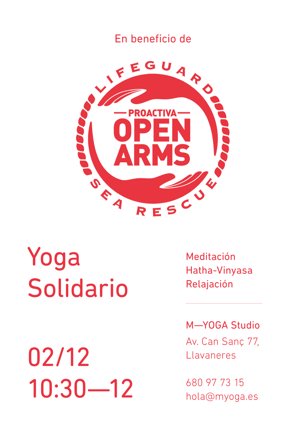 yoga solidario_openarms