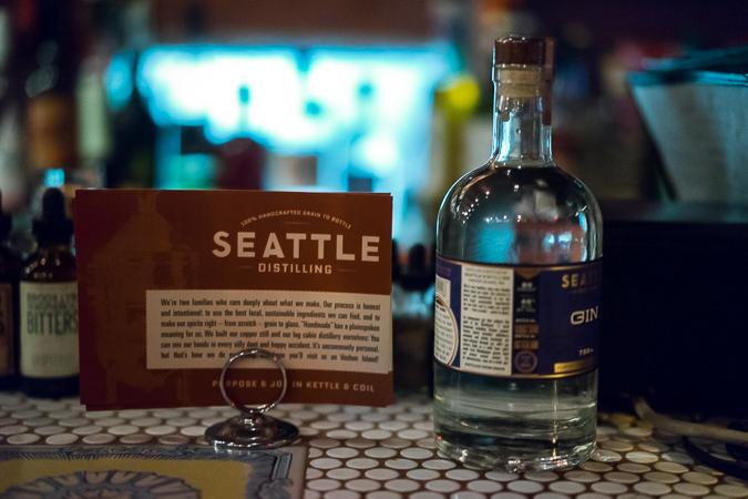 Seattle Distilling Gin
