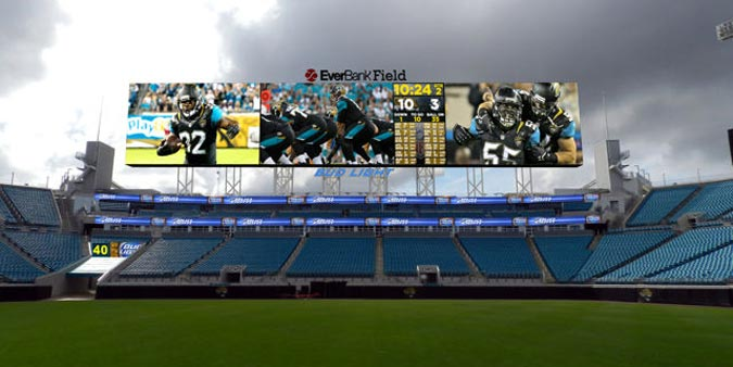New Jaguars Screens
