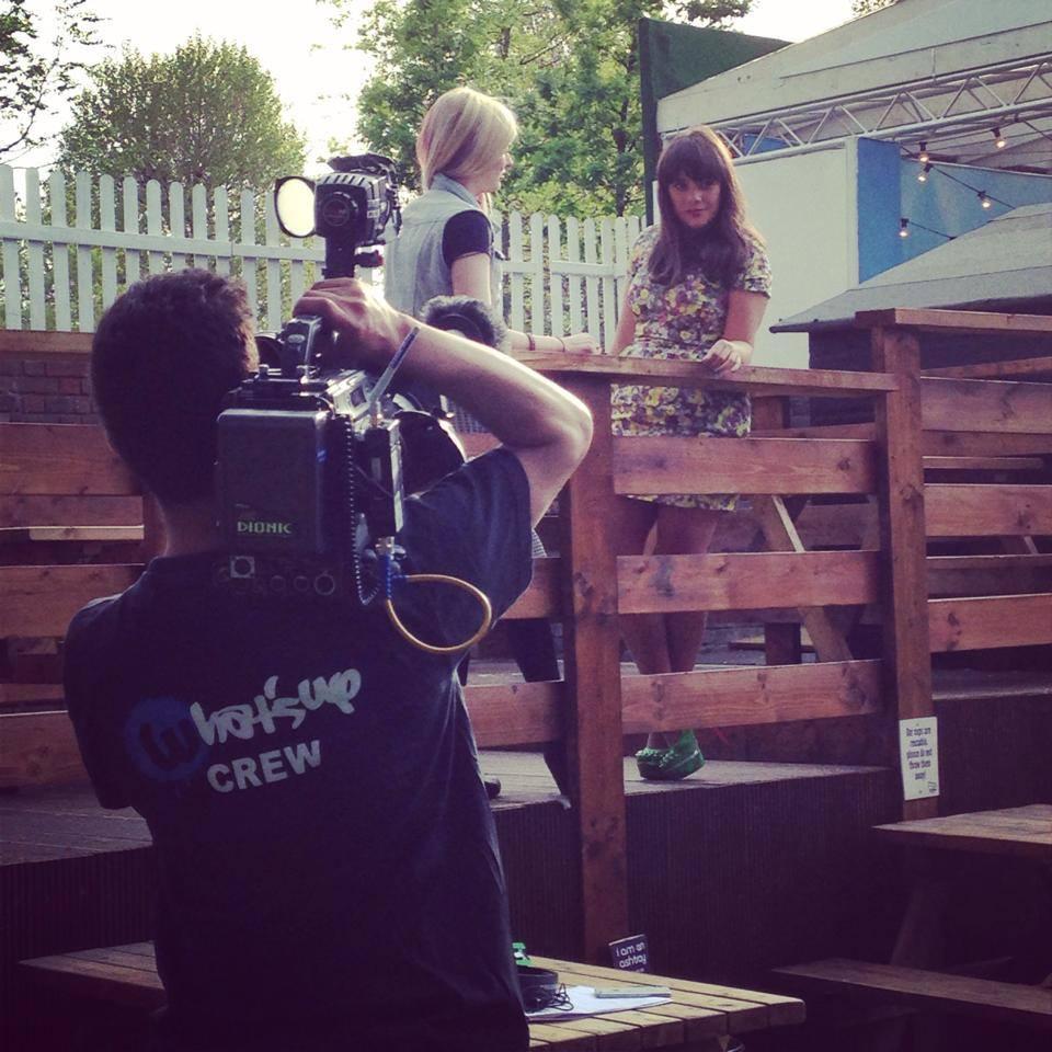 Vikki Stone filming.jpg