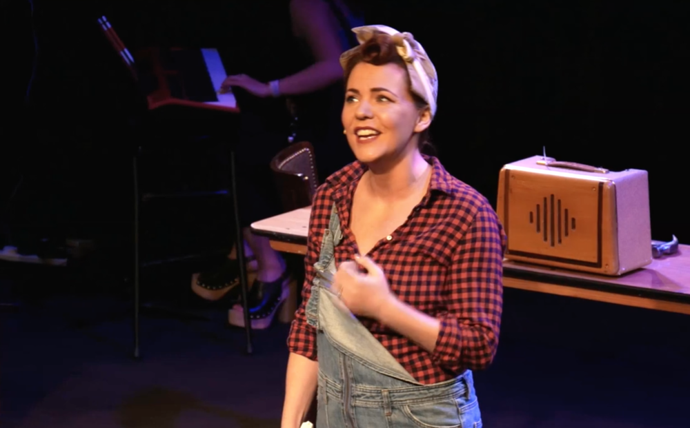 Rachel Tucker in 'The Riveters' by Vikki Stone and Katie Mulgrew