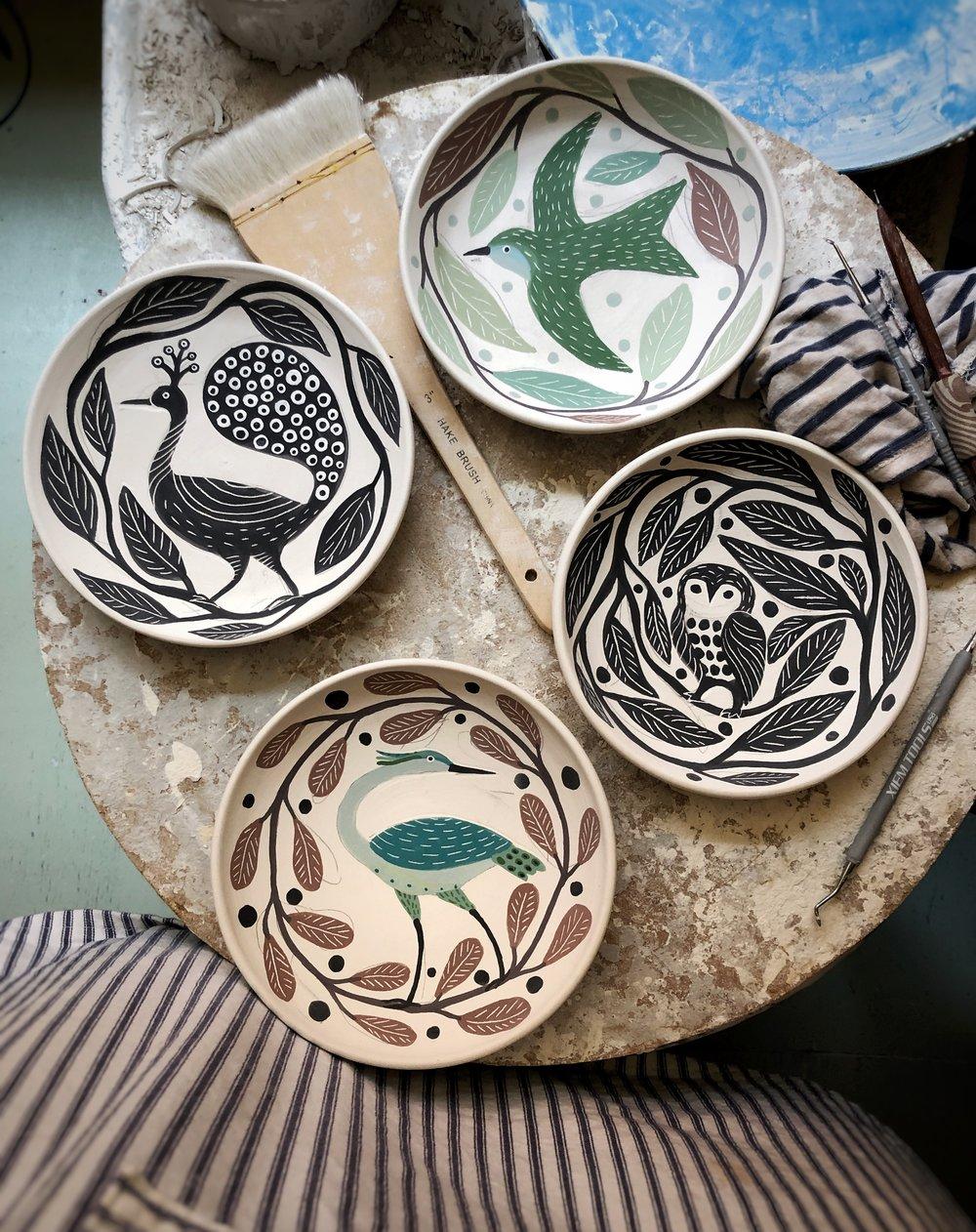 Gabrielle Schaffner ceramics studio