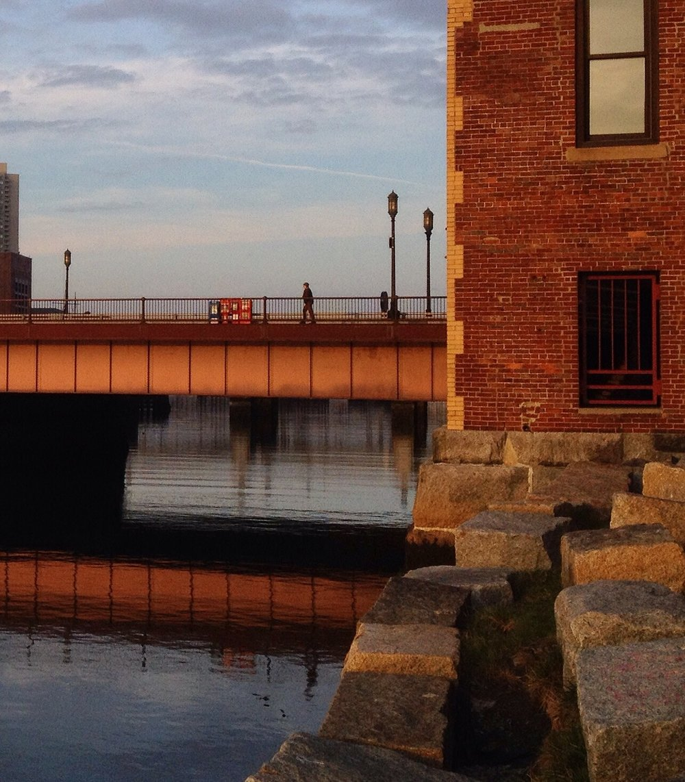 The Fort Point Channel