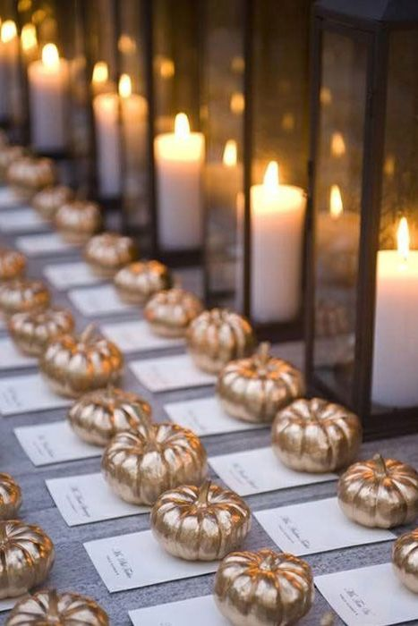 Place Cards - White Pumpkin Wedding Inspiration, Autumnal Wedding Ideas, Autumn Wedding Style - Pingle Pie.jpg
