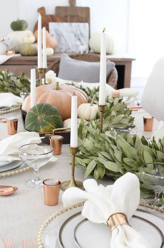 Tablescape - White Pumpkin Wedding Inspiration, Autumnal Wedding Ideas, Autumn Wedding Style - Pingle Pie.jpg