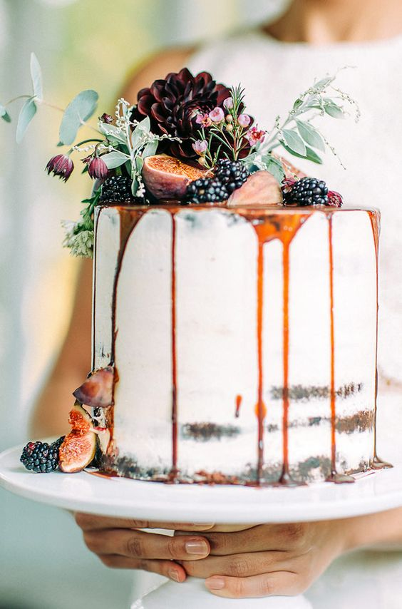 Cake - Pumpkin Wedding Inspiration, Autumnal Wedding Ideas, Autumn Wedding Style - Pingle Pie.jpg