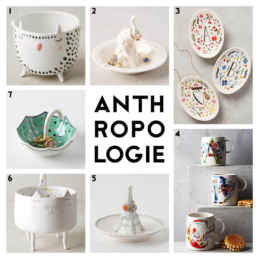 GIFT GIVING WITH ANTHROPOLOGIE