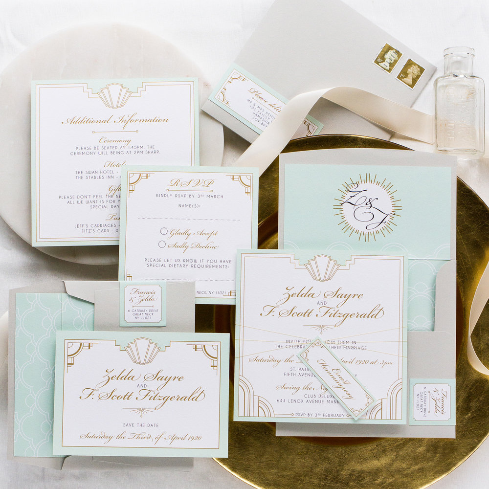 Great Gatsby Wedding Theme — Pingle Pie