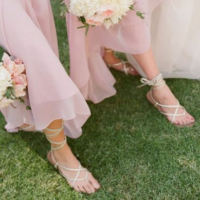 styling a BLUSH WEDDING