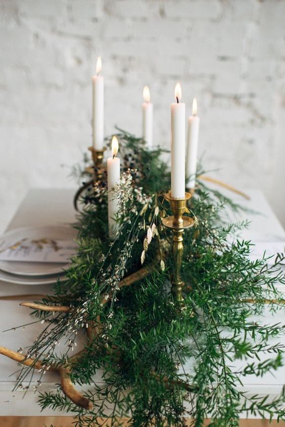 Winter Wedding Theme, Christmas Wedding Ideas, December Wedding Inspiration - Table Decor, Tablescape.jpg