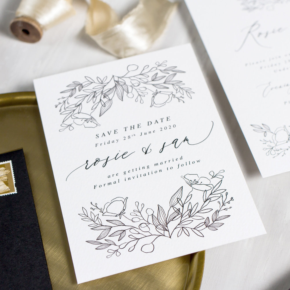 Luxury-Wedding-Stationery-Unique-Illustrated-Floral-Botanical-Leaves-Flowers-Spring-Summer-Wedding-Save-The-Date-Goldberry-Pingle-Pie.jpg.jpg