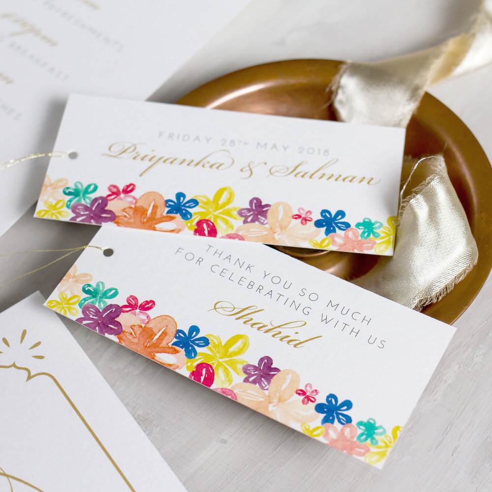 Indian-Summer-Wedding-Stationery-Luxury-Unique-Hand-Painted-Botanical-Peacock-Elephant-Summer-Bright-Gold-Hand-Painted-Wedding-Place-Card-Favour-Tags-Pingle-Pie.jpg