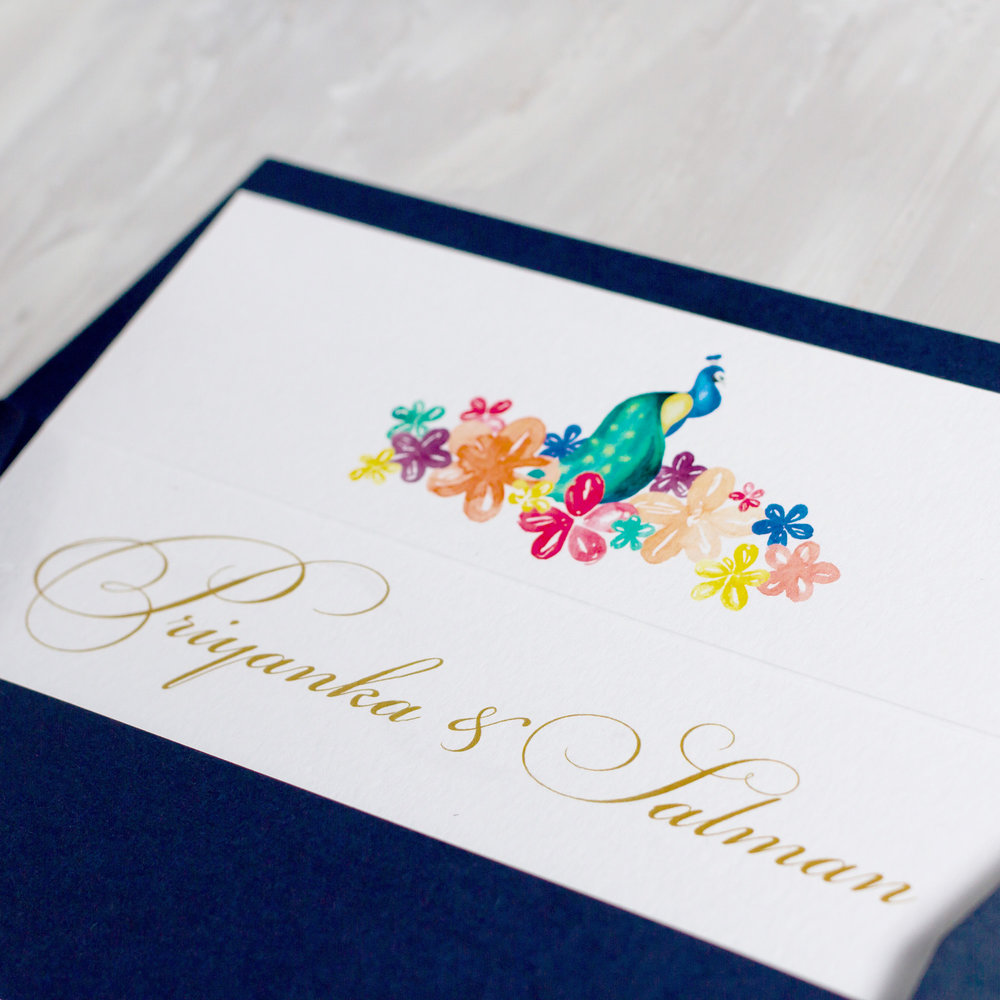 Indian-Summer-Wedding-Stationery-Luxury-Unique-Hand-Painted-Botanical-Peacock-Elephant-Summer-Bright-Gold-Hand-Painted-Wedding-Invitation-Envelope-Liner-Pingle-Pie.jpg