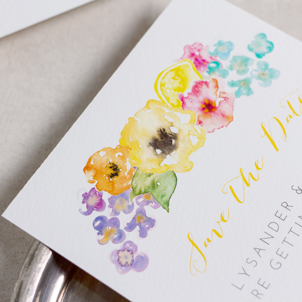 Summery-Wedding-Stationery-Luxury-Unique-Hand-Painted-Floral-Bright-Yellow-Wedding-Save-The-Date-Details-Rising-Sun-Pingle-Pie.jpg